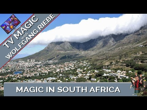 Magic in SA TV Special: Wolfgang Riebe