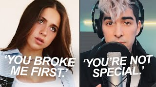 Download you broke me first but it's from a controversial perspective 😳