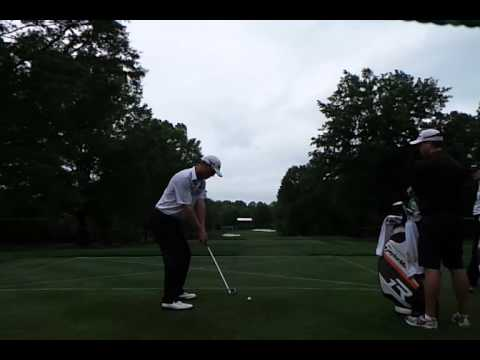 John Senden Golf Swing