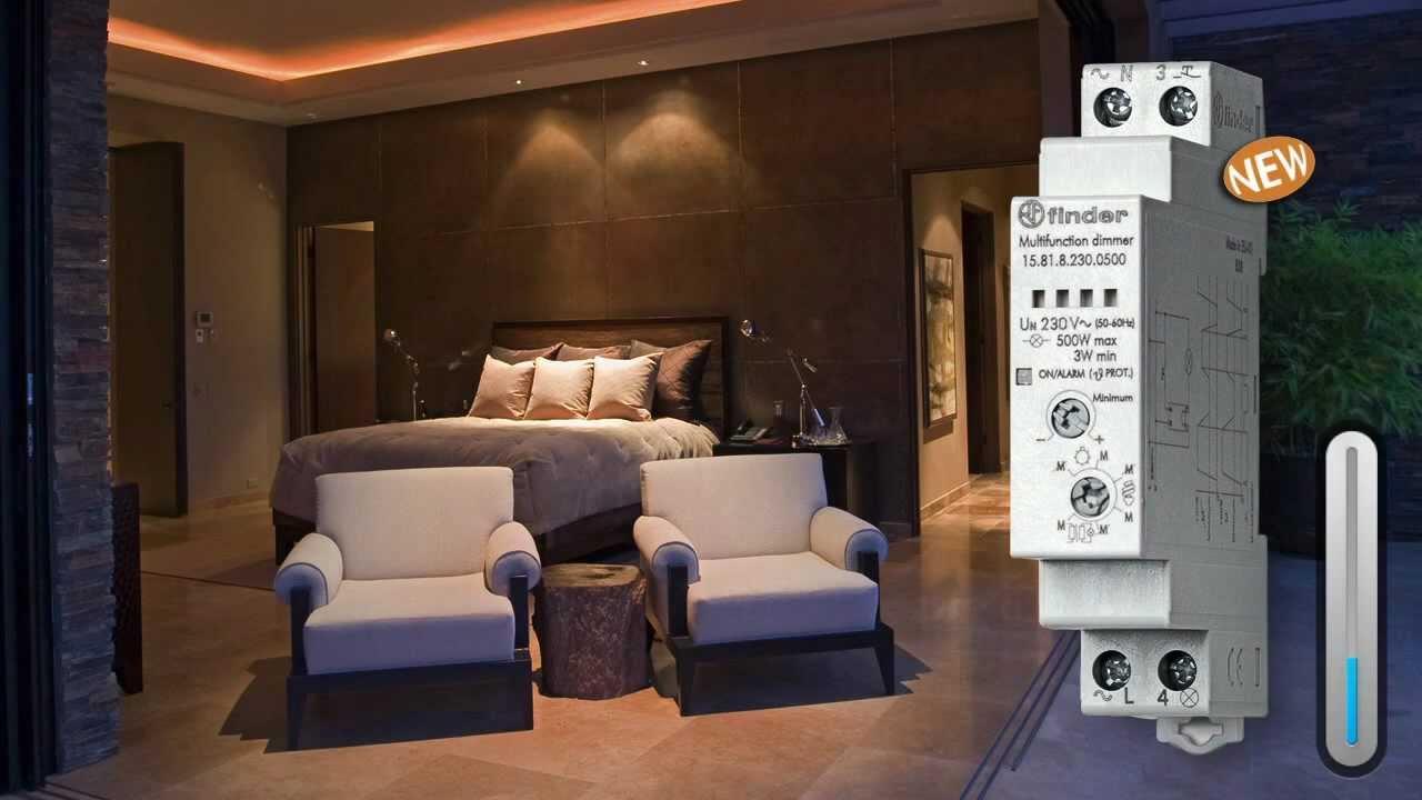 Novo Dimmer Finder Tipo 15.81 - para lâmpadas LED e econômicas dimerizáveis