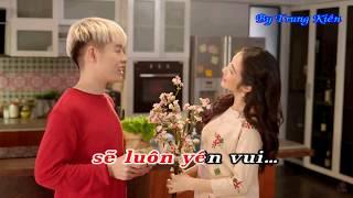 [Karaoke] Thế Là Tết - Đức Phúc ft. Hòa Minzy - Karaoke by Trung Kiên
