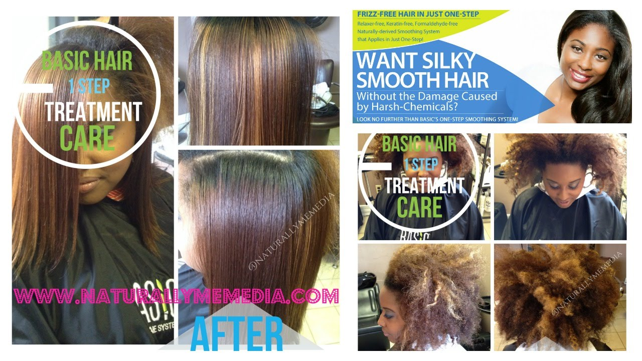 My Second Basic Hair Care One Step Smoothing System Treatment  YouTube