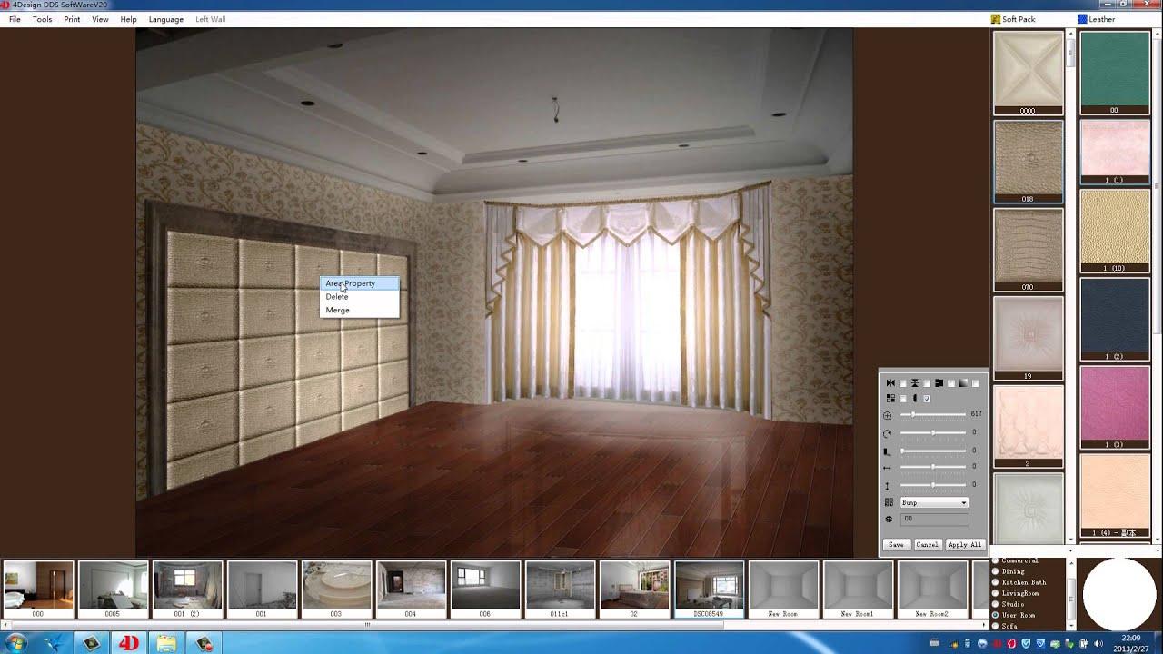 4design soft wall tile design software youtube for Tile planning software