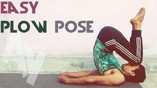 Yoga for Beginners - Easy Plow Pose | Purva Halasana