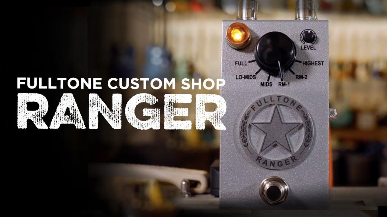 Fulltone Custom Shop Ranger Boost   CME Gear Demo   Henry Bianco
