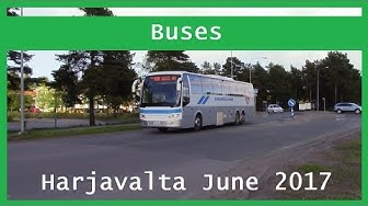 Bus videos: Harjavalta June 2017
