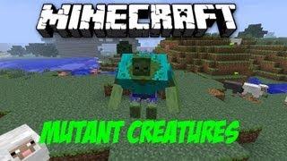 Minecraft Mutant Creatures Mod 1.4.2 German