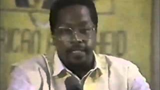 Dr  Amos Wilson   Religion, Work & School