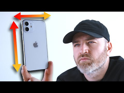 The iPhone 12 is a tiny smartphone