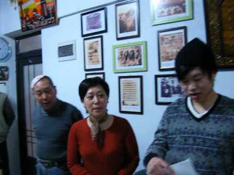 The Jews of China sing Hatikva
