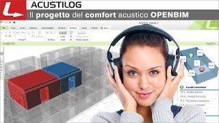 ACUSTILOG 2: il progetto del comfort acustico OPENBIM