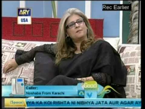MARINA KHAN-INTERVIEW BY DR SHAHISTA WAHIDI-GOOD MORNING PAKISTAN-(2-3)