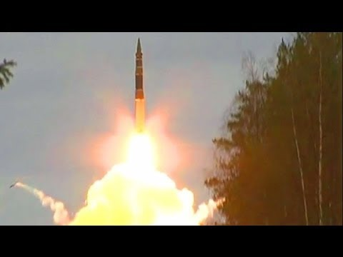 Russian 'COUNTER NUKE' SPACE TROOPS launch missiles in SUDDEN DRILL