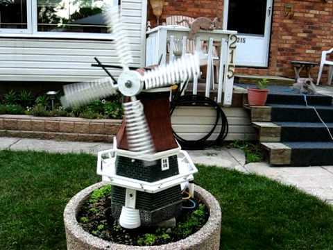 Whirligig Garden Windmill