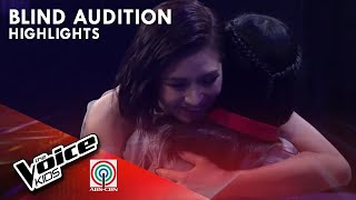 Camille, pinili na mapasama sa Team Sarah | The Voice Kids Philippines 2019