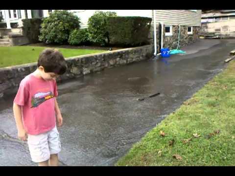 Swampscott Ma flood- 2011 October
