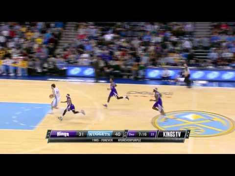 Sacramento Kings vs Denver Nuggets | February 23, 2014 | NBA 2013-14 Season
