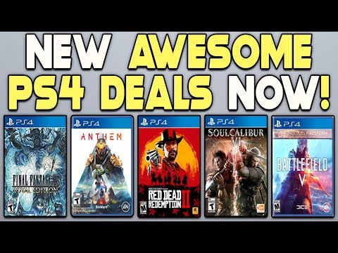 NEW AWESOME PS4 DEALS NOW - NEW PS4 GAMES CHEAP!