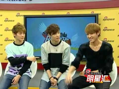[ENGSUB] 120924 EXO @ Sina Live Chat Special