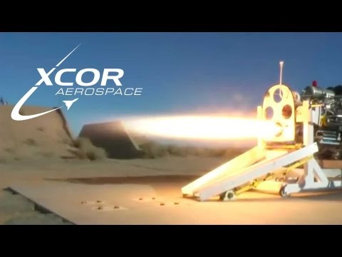XCOR's new Piston Rocket Engine - Spacevidcast Live 6.09