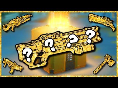Overwatch - GOLD GUN FROM A GOLD LOOT BOX! thumbnail