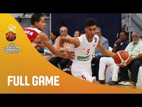 Algeria v Tunisia - Full Game - 3rd Place - FIBA U16 African Championship 2017