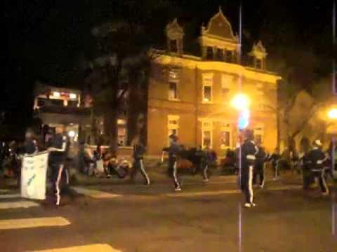 Mountain Vista Homeschool Academy Twirls Batons in the 2011 Colorado Springs Parade of Lights