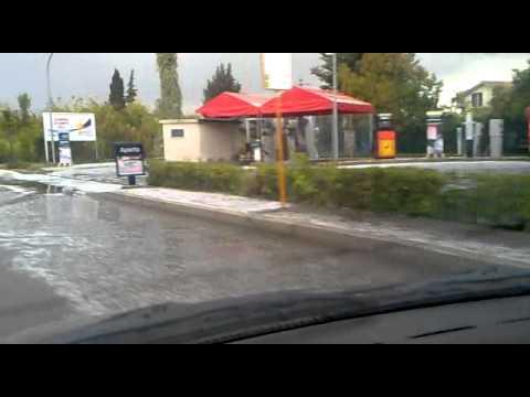 PrimaDaNoi.it- Grandine A Pescara 09/10/2011