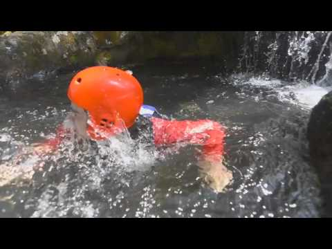 Canyoning in North Wales with the National White Water Centre, full version HD
