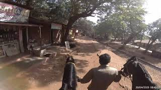 Matheran to Aman Lodge Horse Riding, The Only Vedio of this track on YouTube