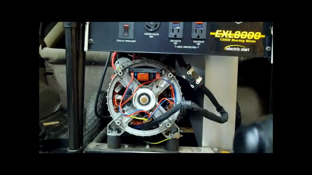 How To Replace Your Automatic Voltage Regulator On Generator Diesel Wiring Diagram Alternator Charging