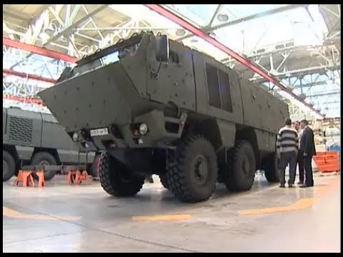 Kamaz Typhoon 6X6 Armored Vehicle