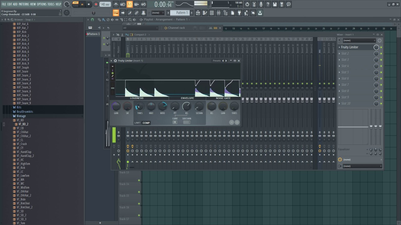 How to Stack Kick and 808 Bass for Beginners | FL Studio 20