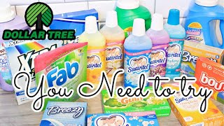 $1 DOLLAR TREE LAUNDRY DETERGENT |CLEANING PRODUCTS PEOPLE ARE OVERLOOKING REVIEW | SHANETTADIYLIFE