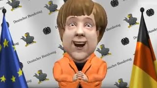 Angela Merkel über David Hasselhoff - Looking For Freedom * Zoope App  zoobemessaging
