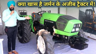 DEUTZ FAHR 45 HP 4wd Tractor Price Specifications Features In India|Hindi