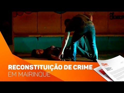 Reconstituição de crime em Mairinque - TV SOROCABA/SBT