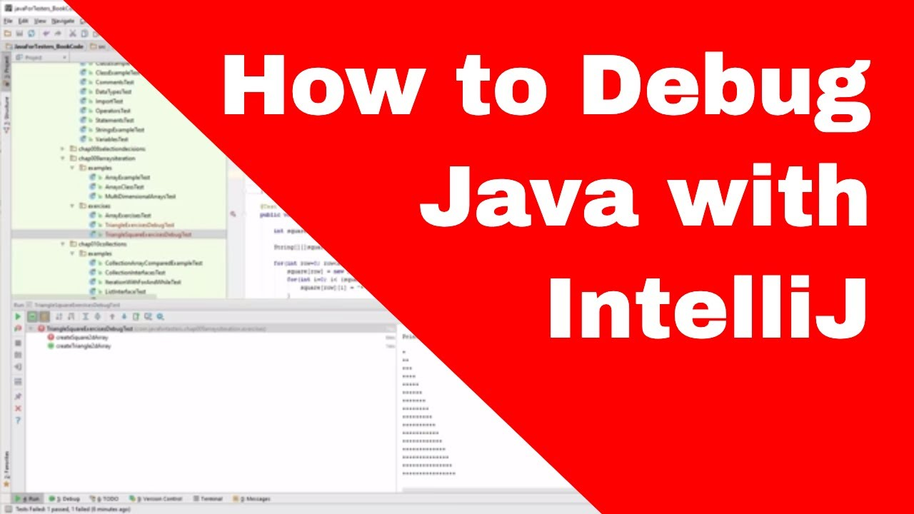 How To Debug Java with IntelliJ