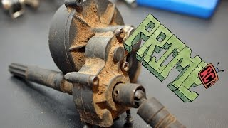 How to clean and lube a SCX Transmission / Project Ugly Duckling