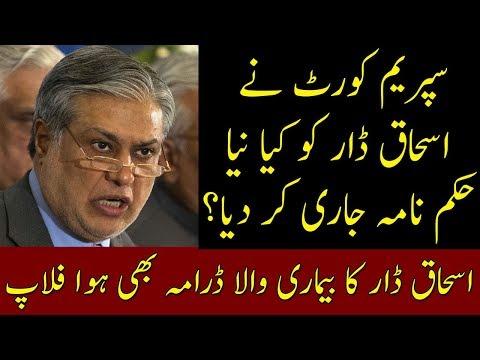 Ishaq Dar Health Drama Exposed | Court Orders For Ishaq Dar | Neo News