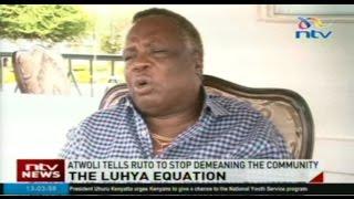 Atwoli tells Ruto to stop demeaning the Luhya community