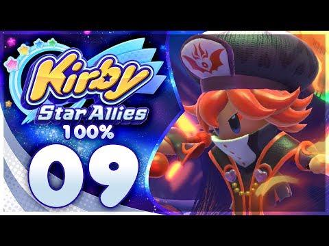 FLAMBERGE ATTACKS! Kirby Star Allies - 100% Walkthrough: Jambastion | Part 9!