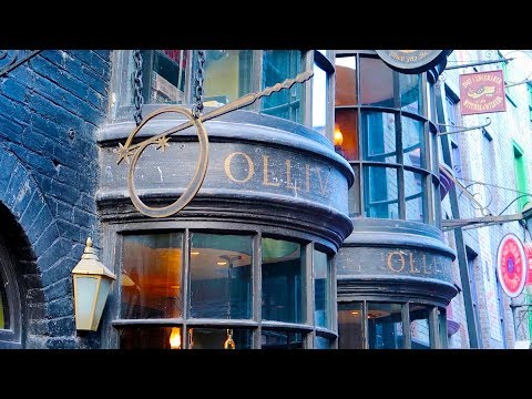 A Comprehensive Look At Interactive And Character Wand Replicas At Ollivanders In Diagon Alley!