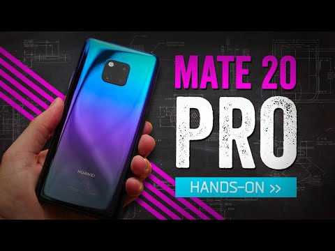 Huawei Mate 20 Pro Hands-On: The Phone I Crossed An Ocean For