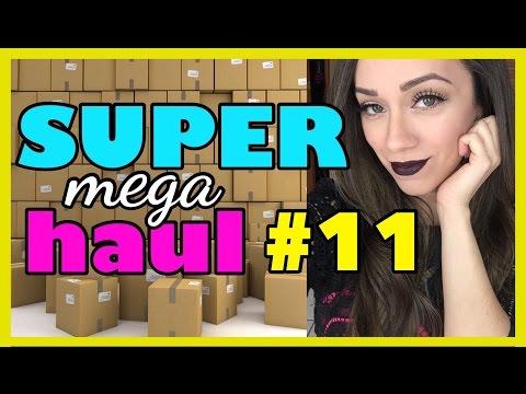 AARON abre PAQUETES y cocinando con POLLO?! | SUPER MEGA HAUL #11