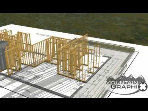 Nice Mountain Graphix: 3D Building Construction   YouTube