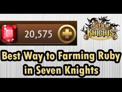 [ Seven Knights ] Best Farming 7 Keys = 8 Rubies (ENGLISH SUBS)
