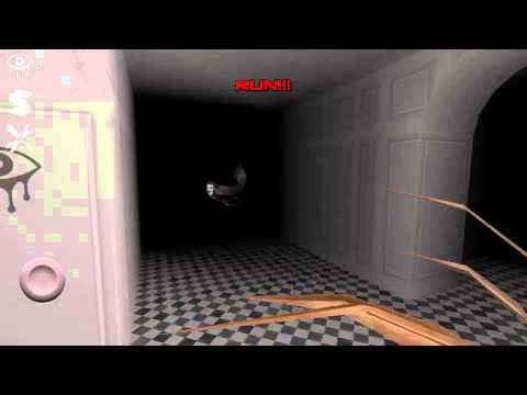 First Unity game I have played for mobile. EYES - the horror game.