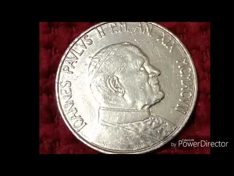 Pope John Paul II 1997 Uncirculated Collectable Coins
