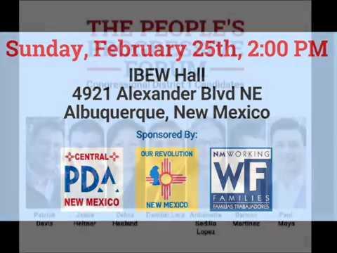 People's Progressive Forum (v1)  Albuquerque, NM 022518